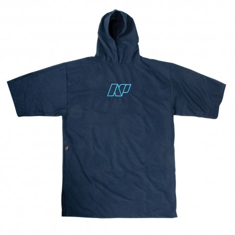 2017 NP Terry Changing Poncho- Microfiber Suede